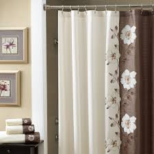Small Waterproof Bathroom Window Curtains by Bathroom Croscill Shower Curtains With Colorful And Cheerful