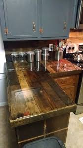 Excellent Idea Rustic Kitchen Countertops 30 That Add Coziness To Your Home DigsDigs