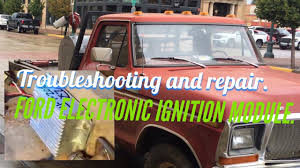 Electronic Ignition Module On A Ford. - YouTube