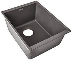 blanco 519048 precis medium bowl cinder single bowl sinks