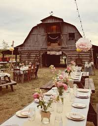 Dream Barn Rustic Wedding