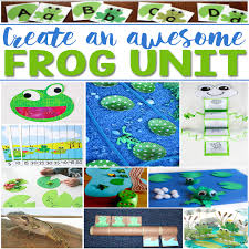 Create An Awesome Frog Life Cycle Unit For Your Students With These Great Kids Activities