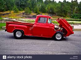 1956 Custom Chevrolet Step-Side Pick Up Truck Stock Photo: 54664229 ...