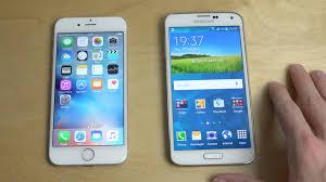 iPhone 6S vs Samsung Galaxy S5 Speed Test