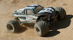 100 Gas Powered Remote Control Trucks 15 Monster Truck XL 4WD RTR With AVC Black Horizon Hobby