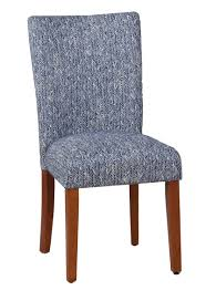 Kelsi Upholstered Parsons Chair In Blue Ding Room Elegant Kfine Classic Upholstered Parsons Fniture Parson Chair For Your Interior Ideas Contemporary Gray Velvet Nailhead Set Kelsi In Blue Simple And Chairs Floral Fabric Wyndenhall Normandy 7 Pc With 6 And 66 Inch Wide Table Skirted Fresh Sarkis Muses 7piece Rectangular Back By Progressive At Wayside West Design Rustic Chairs Jax 5 Piece Rooms