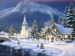 Thomas Kinkade Christmas Tree by Thomas Kinkade Christmas Village Thomas Kinkade Art Oil Painting