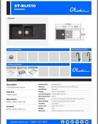Oliveri Sinks Harvey Norman by Oliveri Santorini Vilo Spray Mixer Tap Black Taps Sinks
