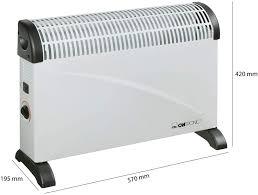 konvektor heizung mit extrastarken 2000 watt für mobile wärme für innen und außen inkl komfortablen tragemulden für leichten transport