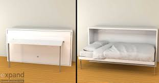 Hover Horizontal Single Murphy Bed Desk
