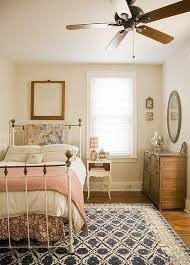 Bedframe Color Palette Rug Vintage Style For Guest Room