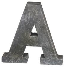 Letter Block Decorative Objects You ll Love