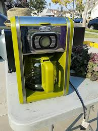 Used Lime Green Bella Coffee Maker For Sale In Simi Valley