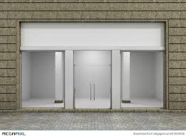 Modern Empty Store Front