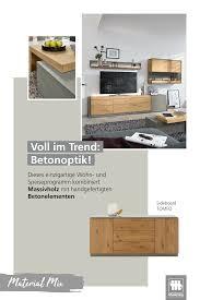 beton und holz wohnzimmer musterring musterring möbel