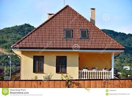 100 Modern Single Storey Houses Onestorey Private House In Russia Stock Image Image Of