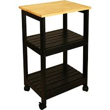 Catskill Craftsmen Utility Kitchen Cart Black Walmart