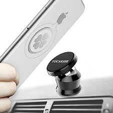 Save  off on Magnetic Car Mount Holder Universal Mobile Phone Holder for Car Dashboard Cell Phone Holder 360° Rotation Car Phone Stand for iPhone X 8