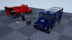 100 Bank Truck Armor By Kobra Game Studios In Props UE4 Marketplace