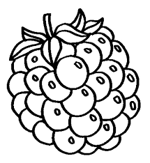 Grapes Fo Fresh Juice Coloring Pages