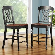 Weston Home Ohana Counter Height Chair - Black & Oak - Set Of 2 ... Millennium Porter Counter Height Xback Upholstered Swivel Barstool Weston Home Ohana Chair Black Oak Set Of 2 Winners Only Daphne 78 Solid Birch Ding Table Saddle Seat Bar Stool In Cherry With 24 Inch Room Cayden Dark Gray Fabric Coaster Sofie 120519 By How To Choose The Right Heights For Your Kitchen Shop And Sets Wolf Fniture Stanton Value City Round With Microsuede Comfy Pier One Stools Making Remarkable Sale Fnitures Prices Brands Review In