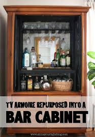 34 best bar ideas images on pinterest armoire bar armoire redo