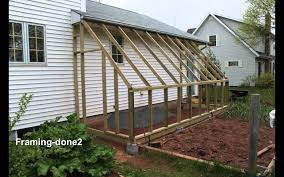 lean to greenhouse youtube