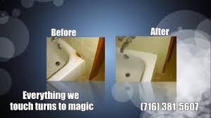 bathtub refinishers buffalo ny clawfoot tub buffalo ny with surface magic