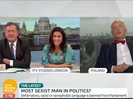 Britains Most Decorated Soldier Ever by Sexist Polish Mep Interviewed By Piers Morgan On Good Morning