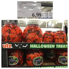 Utz Halloween Pretzel Treats Nutrition by The Costco Connoisseur All Things Fall Football Pumpkin And