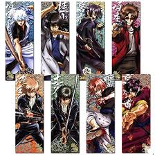 a set of 8pcs gintama anime poster wall