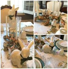 Jo On Legacy Lane: Easter Tablescape And Decor Easter At Pottery Barn Kids Momtrends Easy Diy Inspired Rabbit Setting For Four Entertaing Made 1 Haing Basket Egg Tree All Sparkled Up Tablcapes Table Settings With Wisteria And Bunny Palm Beach Lately Brunch My Splendid Living Toscana Designs
