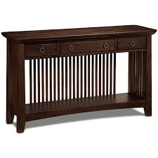 Walmart Larkin Sofa Table by Hg133804 1 Mission Style Sofa Tables And Consolessofa With Storage
