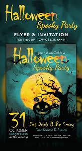 Free Halloween Invitation Templates Microsoft by Free Halloween Party Invitation Flyers Photo Album Halloween Ideas