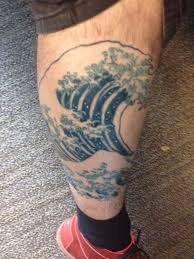 Great Wave Off Kanagawa Tattoo