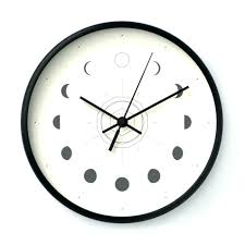 automatic wall clock image for amazing with light up words