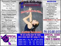 Emmaus Halloween Parade 2015 Date by Kids Co Op Gymnastics U2013 Tumble U2013 Dance Center