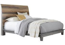 Moss Creek Gray 3 Pc Queen Sleigh Bed Queen Beds Colors