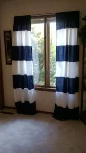 Blue Vertical Striped Curtains by Navy Blue And White Striped Curtains Uk Integralbook Com