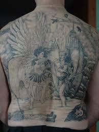 Bird Tattoo Ribs