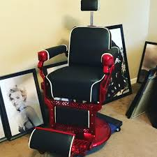 Emil J Paidar Barber Chair Headrest by My Belmont Barber Chair That I U0027m Redoing To My Liking Barber