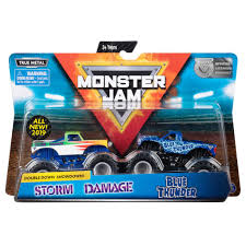 100 Blue Monster Truck Spin Master Jam Jam Official Thunder Vs