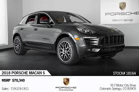 100 Porsche Truck For Sale 2018 Macan Macan S Stock 18164 For Sale Near Colorado