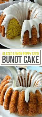Glazed Lemon Poppy Seed Bundt Cake Mother Thyme