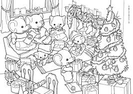 Download Or Print These Amazing Sylvanian Families Coloring Pages