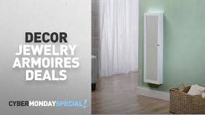 Walmart Top Cyber Monday Decor Jewelry Armoires Deals: InnerSpace ... Innerspace Overthedowallhangmirrored Jewelry Armoire Over The Door With Mirror Hives And Honey Best 25 Jewelry Armoire Ideas On Pinterest Wall Hang Deluxe Walmartcom Home Decators Collection White Armoire50265410 The Hsn Haing Mirrored Full Cabinet Choice Image Doors Design Ideas Rustic With New Lighting For Over Door Abolishrmcom Halle Overstockcom