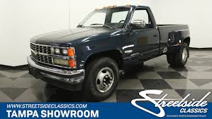 100 1988 Chevy Truck For Sale Chevrolet Silverado 3500 Dually For Sale 98177 MCG