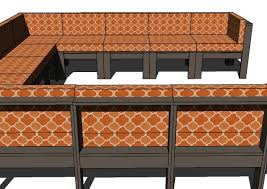 how to build patio furniture sectional plans diy free download diy