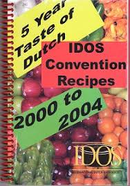 IDOS 5 Years Taste Of Dutch Convention Recipes