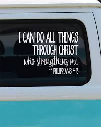 All Things Through Christ Vinyl Decal - Car Decal - Window Sticker ... 1979 Ford Truckcool Window Decals Youtube Stickers Window For Car As Well Lets See Them Rear Window Decals Ford Truck Enthusiasts Forums Best Decals Graphics In Calgary For Trucks Cars Texas Sign Company Makes Awful Decal Depicting Woman Tied Up In Graphics Stickers Vinyl Lettering Pensacola Store Offtopic Gmtruckscom The Buys On Life And External Small Camera Recording Stickers87mm X 30mm All Things Through Christ Vinyl Sticker Abarth Gps Tracking Device Security 87x30mmcar